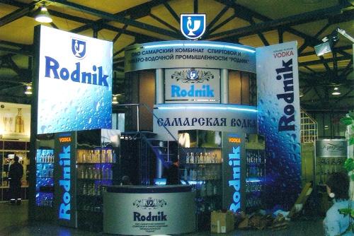 выставочный стенд Rodnik оформление